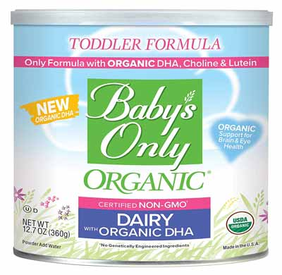 Babys only organic formula