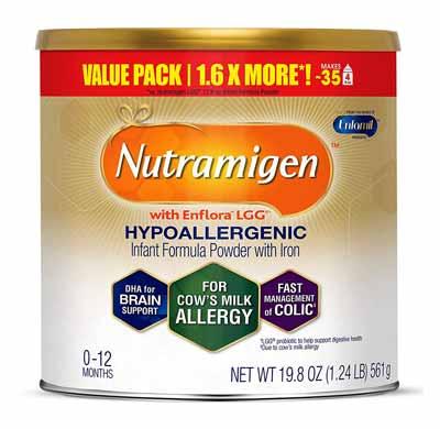 Enfamil hypoallergenic infant formula