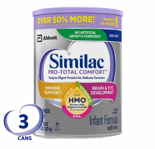 Similac pro total infant milk
