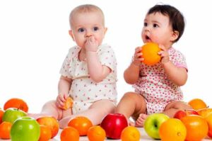 Fruits the solid foods for baby
