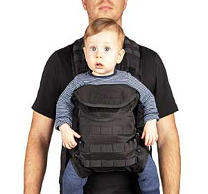 TGB Tactical baby carrier for big dads