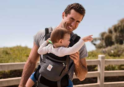 Best baby carrier for big dads