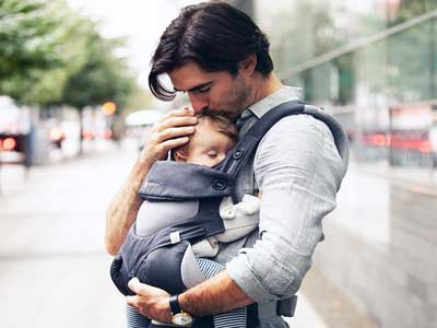 Ergobaby infant carrier for dads
